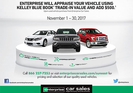 Enterprise Car Sale