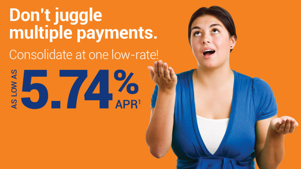 Don't juggle multiple payments